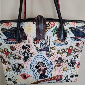 Disney Dooney & Bourke Cruise line tote bag